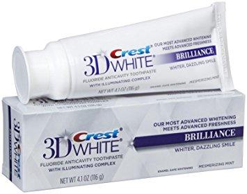 Crest 3D White Brilliance toothpaste - Teeth whitening toothpaste