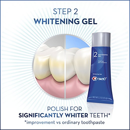 Crest teeth whitening polish