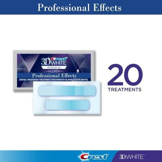 Professional Effects Whitestrips - 20 pouches