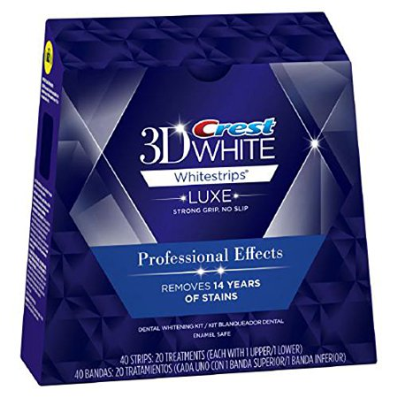 crest professional effects whitening strips - crest whitestrips
