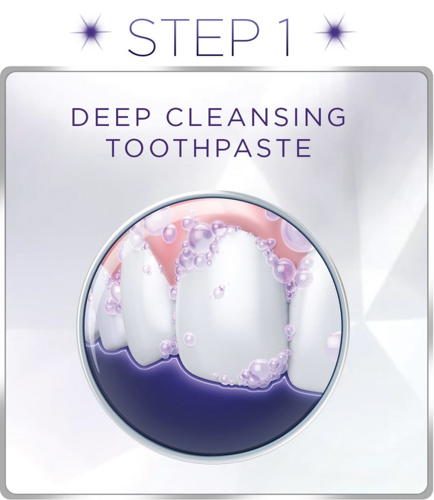 teeth whitening toothpaste crest 3d white